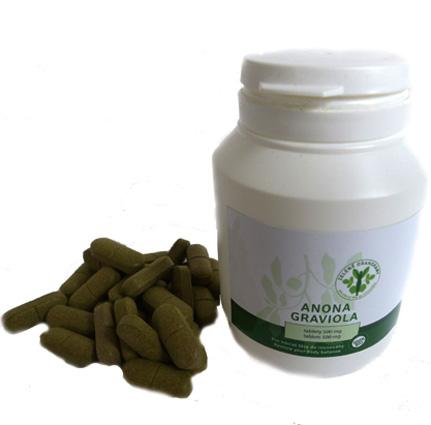 Anona graviola 200ks tablety Zelené drahokamy