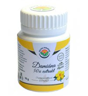 Damiána - Turnera diffusa 10x extrakt 10g