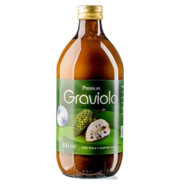 Allnature s. r. o. Graviola Premium Bio šťáva s dužinou 100% 500ml