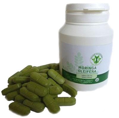 Moringa tablety 100ks á 500mg Zelené Drahokamy